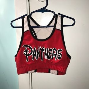 Other - Cheer athletics panthers sports bra